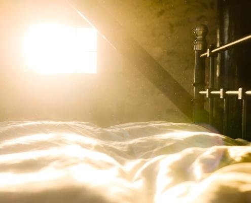 stof in slaapkamer verminderen