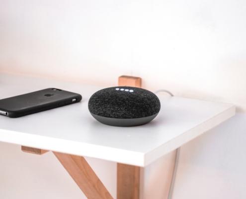 Google Home robotstofzuiger
