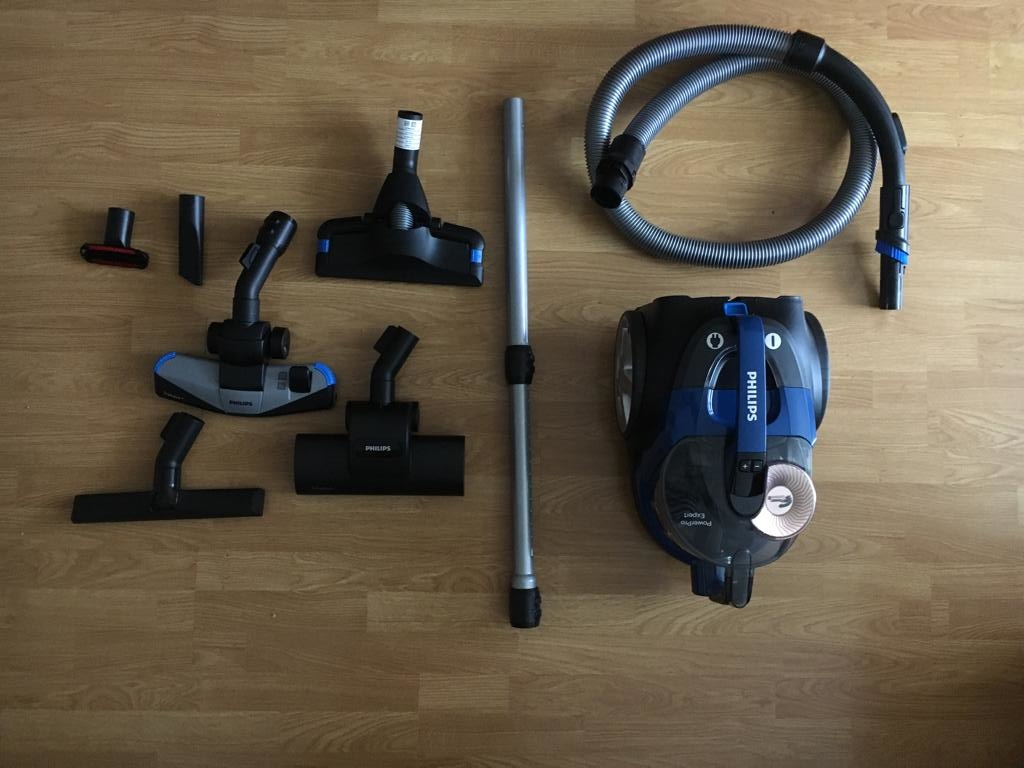 unboxing philips fc9745-09 powerpro expert